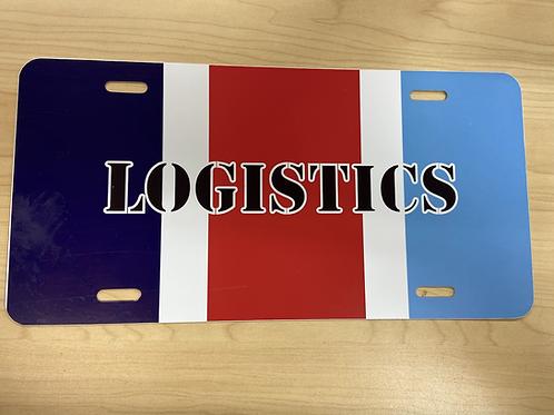 Logistics license plate