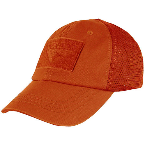 Condor Tactical Adjustable Mesh Cap Orange