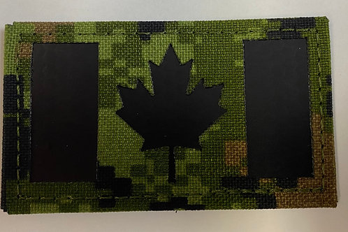 IR Laser Cut Digital Canadian Flag