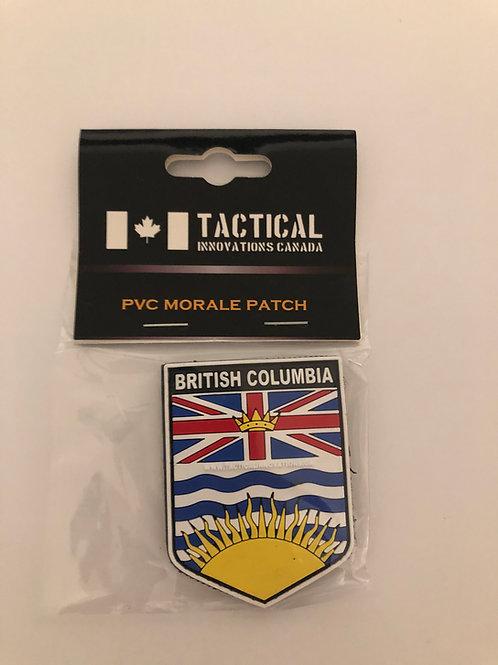 TIC British Columbia Shield Full Colour Patch