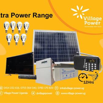Village Power Uganda Launches the X-Series Product Range:
