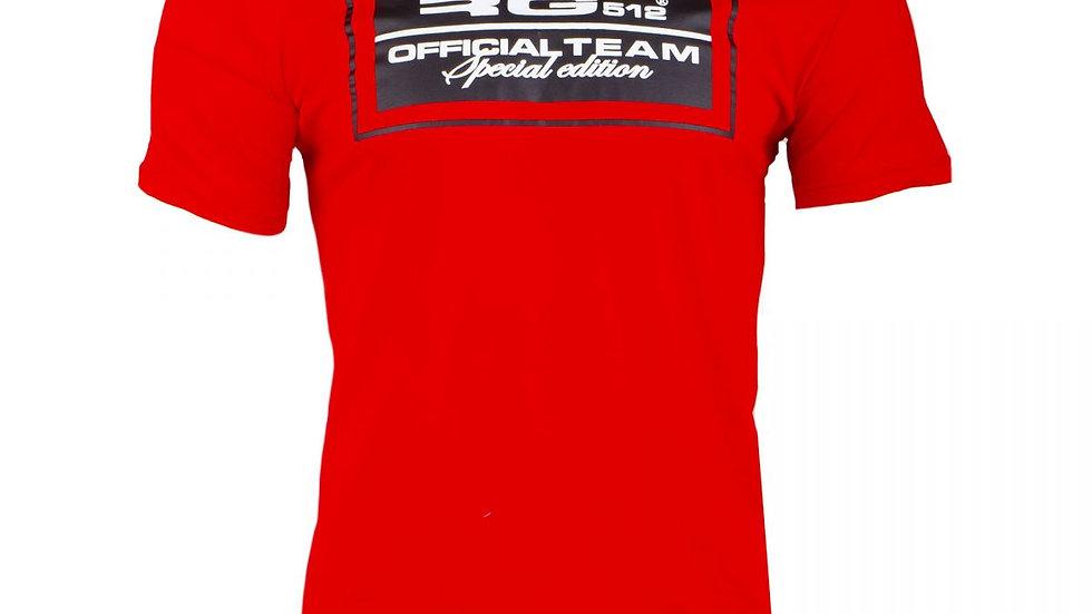 T shirt RG 512 rouge