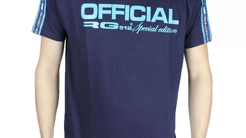 T shirt RG 512 bleu