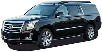 Custom Escalade Diplomat Black SUV