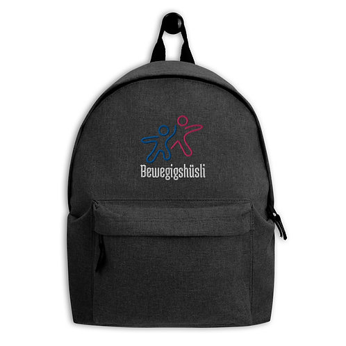 Embroidered Backpack mit Logo