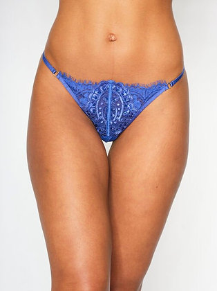 FIERCELY SEXY CROTCHLESS STRING - Cobalt