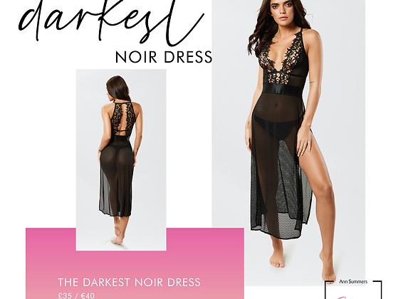 DARKEST NOIR DRESS