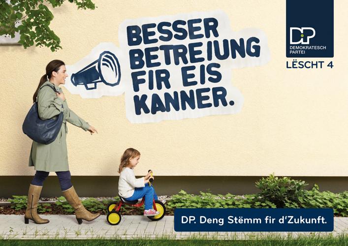 DP Wahlkampf