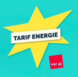ver.di - Tarif Energie