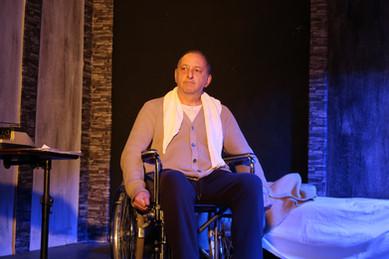 """Paul Sheldon in """"MiSERY"""""""