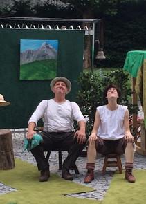 """Alm-Öhi + Hr. Sesemann in  """"HEIDI"""""""