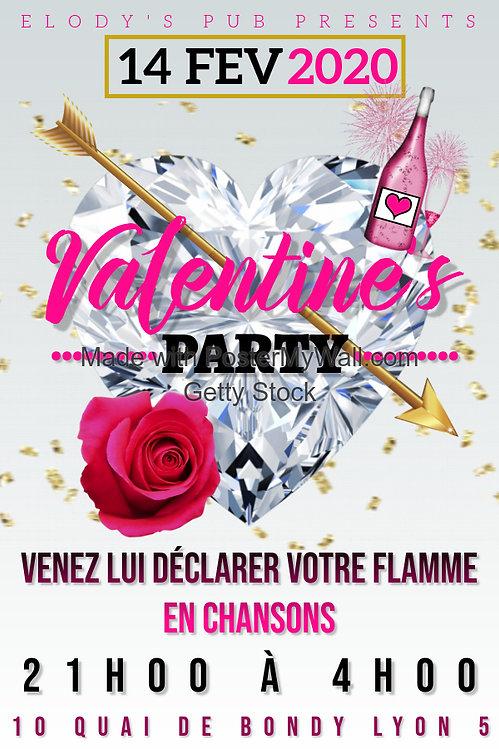 Copie de Valentines Day party - Fait ave