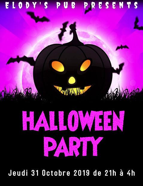 Copie de Halloween flyers, event flyers,