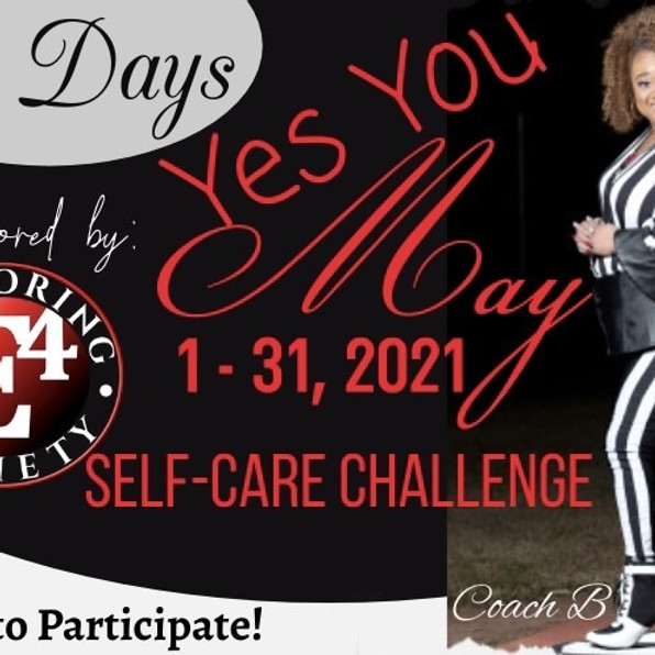 Yes You May Self Care Challenge
