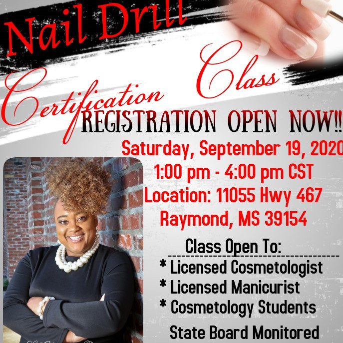 Nail Drill Certification