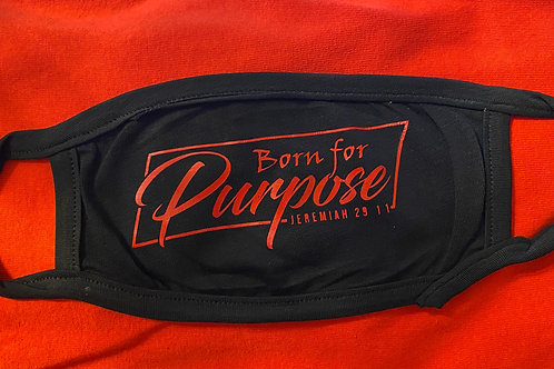 Born For Purpose Rectangle Mask