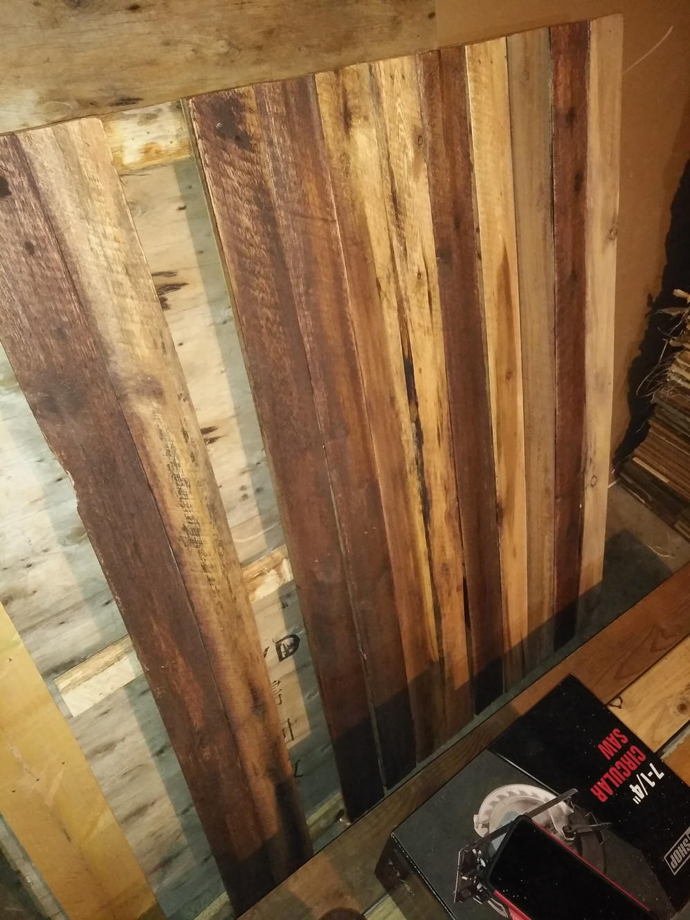 Shipping Pallets and Project Wood