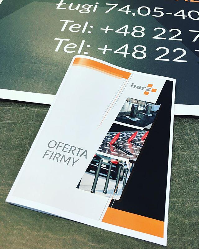 #drukcyfrowy #folder #drukodręki #oferta