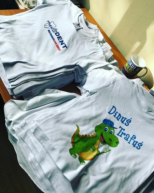 Zrealizowaliśmy zamowienie na 100 koszulek dla naszego Klienta ze Stalowej Woli 💪💪polecamy się jeś