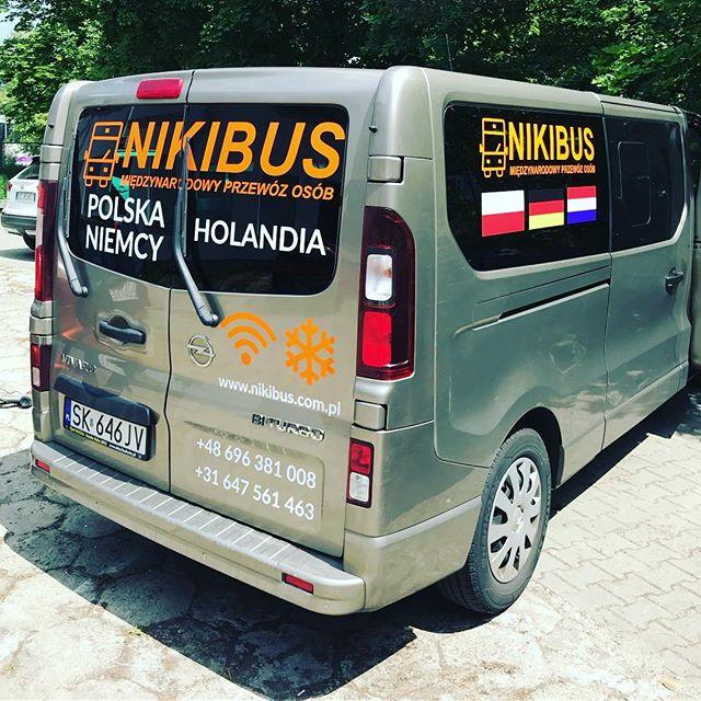 #oklejamypojazdy #bus #transport #polska #niemcy #holandia #nikibus #foliaploterowa #foliapolimerowa