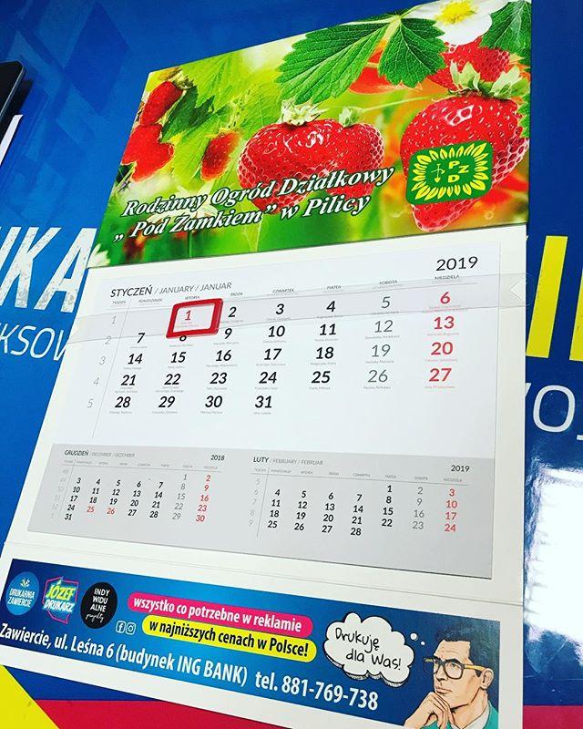 #kalendarze #truskawki #leśneowoce #rela