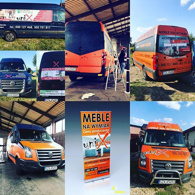 #zmianakoloruauta  #crafter #meblenawymiar #mebleunix #oklejaniepojazdow #carwrap #reklama #drukarni