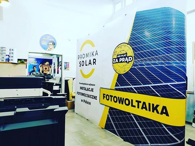 #sciankareklamowa #fotowoltaika #promika