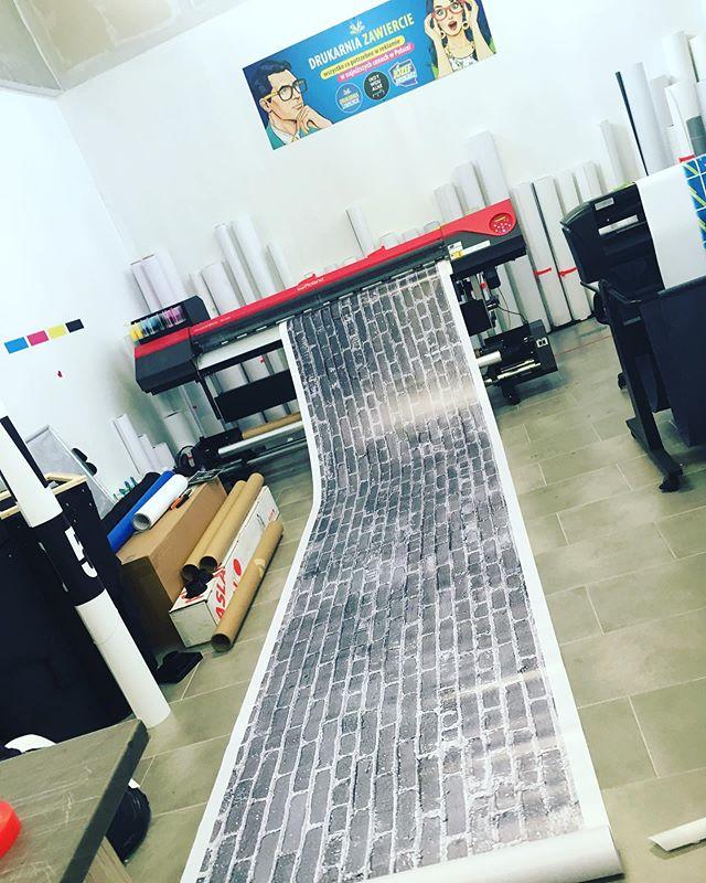 #fototapeta #drukarnia #wydrukixxl #cegł