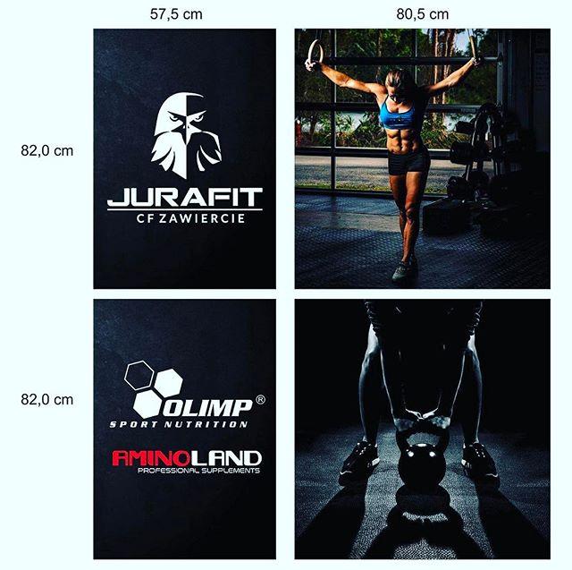 U nas znów w sportowym klimacie - tym razem prezentujemy efekt prac naszego Grafika dla Jurafit i Am