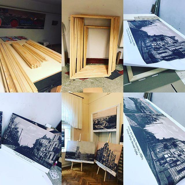 #drukujemy #obrazy #płótno #canvas #wystawa #sztuka #galeria #fotografie #dawnezawiercie #biblioteka