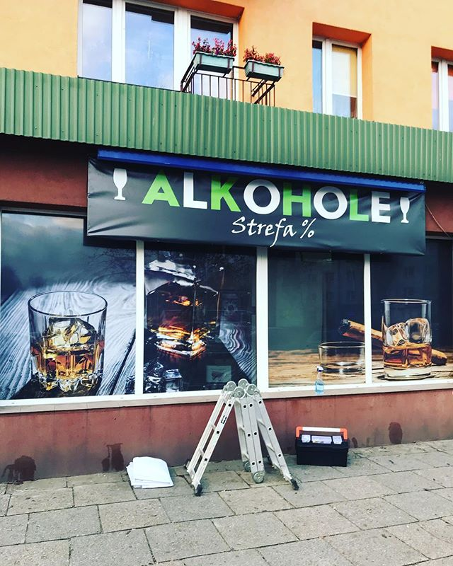 #oklejanie #foliaowv #baner #monopol #sk