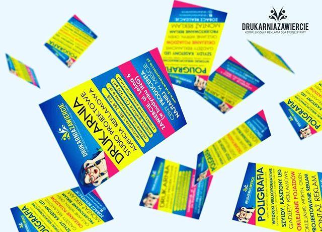 Wizytówki z folia Soft Touch żywe kolory i aksamitna folia to najlepsze połączenie w reklamie 😂 #dr