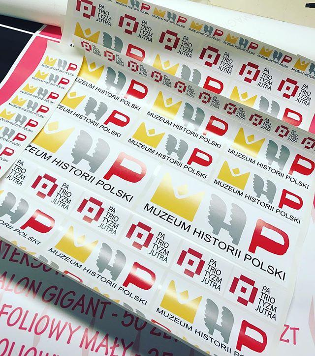 #naklejki #drukujedlawas #muzeumhistoriipolski #drukuje #wysyłam #patriotyzmjutra