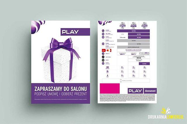#ulotki #play #playdlafirm #prezent