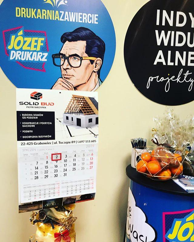 #kalendarze2019 #drukarnia