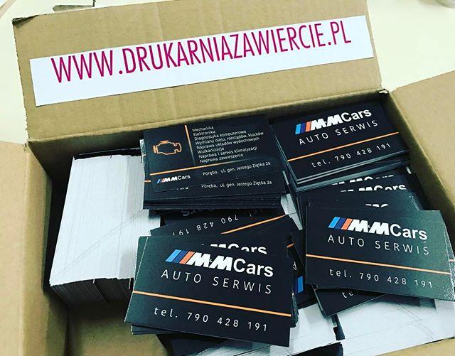 Wizytówki dla MM CARS#biznes #firma #zawiercie #marketing #print#drukarnia
