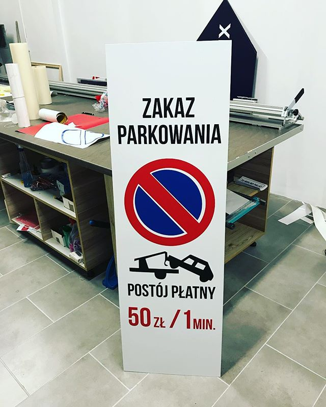 #tablice #zakazpostoju #parking