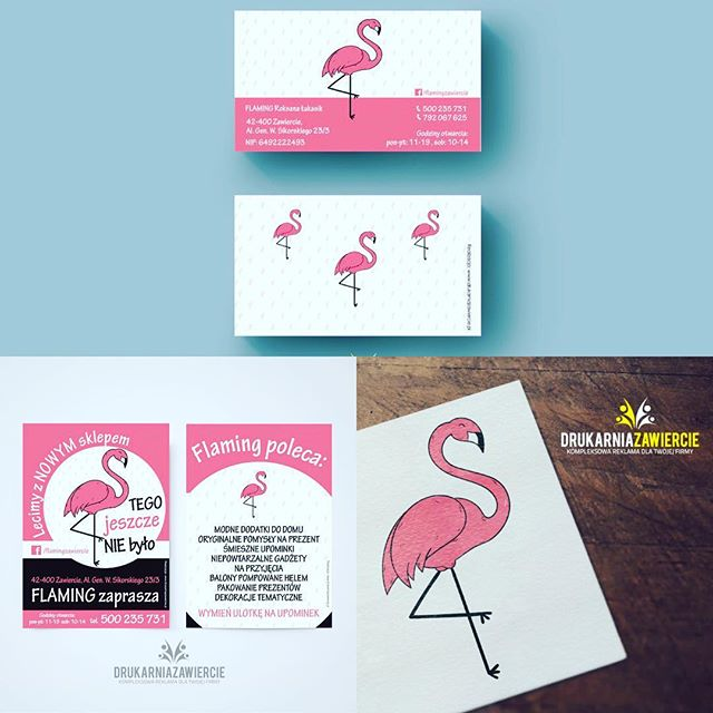 flamingzawiercie wykonaliśmy całą oprawę graficzną od podstaw