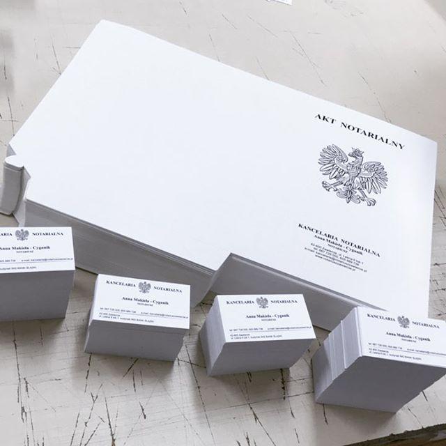 #teczki #wizytówki #drukarnia #notariusz #drukujedlawas
