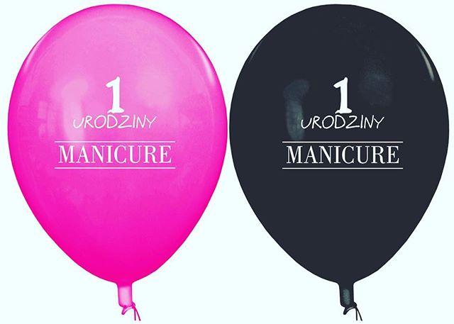 #baloniki #manicure #pierwsze #urodziny #party #instabirthday #birthdaygirl #gadżet #marketing #rekl