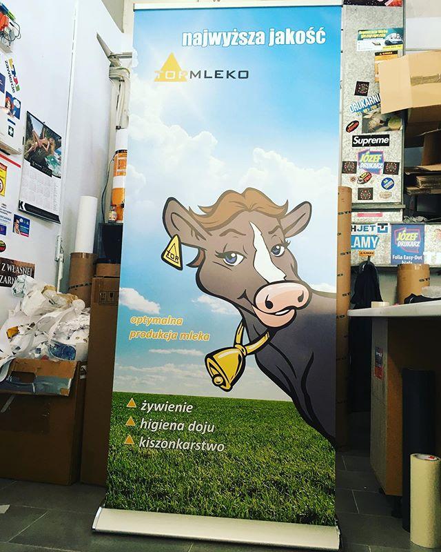 #mleko #drukarnia #rollup