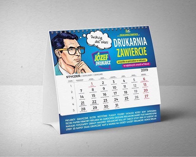#jozefdrukarz #drukarnia #kalendarze #ka