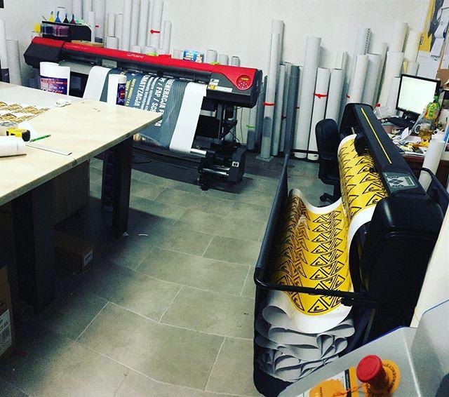 #drukarnia #produkcja #wydrukiwielkoform