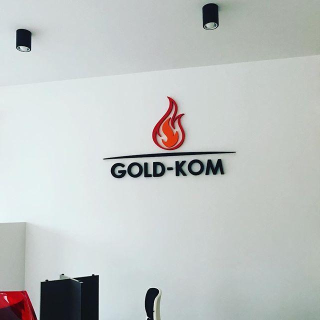 #logo #styrodur #goldkom #kominki