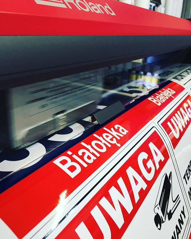 #drukwielkoformatowy #drukarnia #roland.