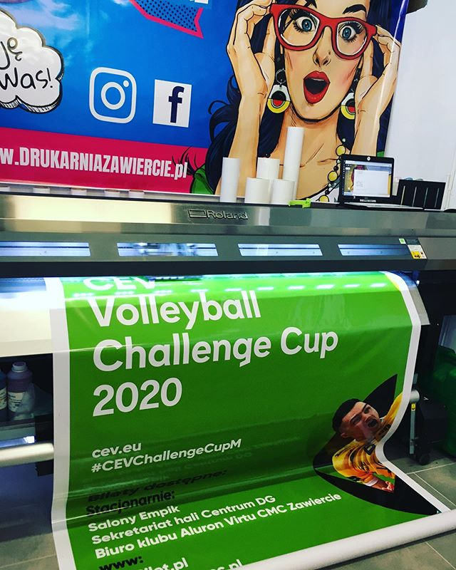 #baner #volleyballchallenge #print #druk