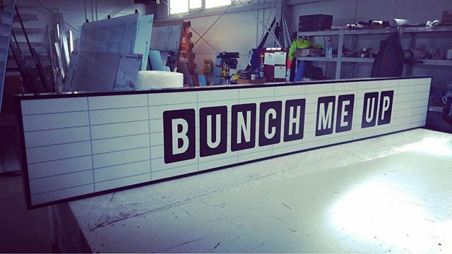 Bunch Me Up prosto do Londynu wyjechał od nas dziś rano _) #kaseton #reklamaled