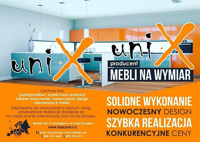 Tworzymy katalog dla firmy Uni-X producenta mebli na wymiar - projekt reklamy która pokażesz swoim K