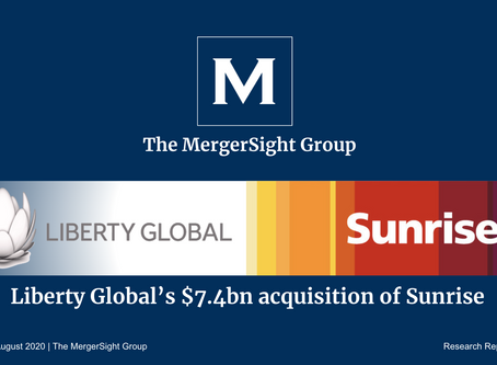 Liberty Global's $7.4 Billion Acquisition of Sunrise Communications Group