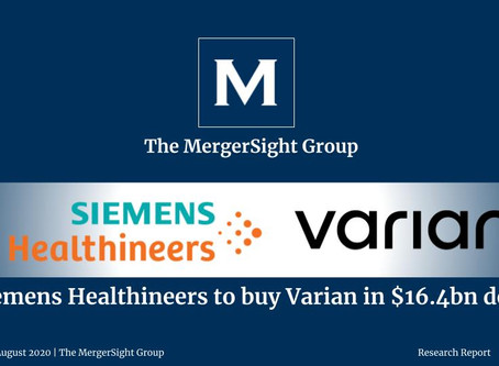Siemens Healthineers to buy Varian in $16.4bn deal